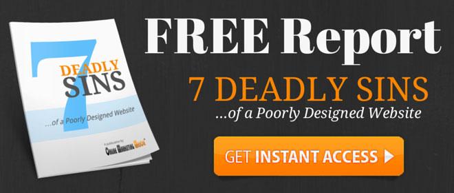 FREE Report 7 Deadly Website Sins