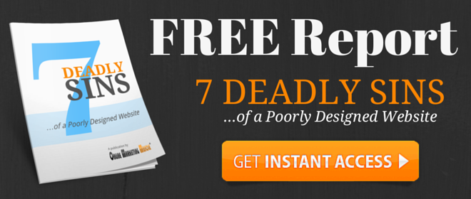 FREE Report 7 Deadly Website Sins