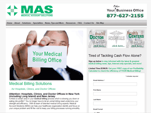 MAS - Medical Account Solutions - www.YourMedicalBillingOffice.com - Long Island, NY