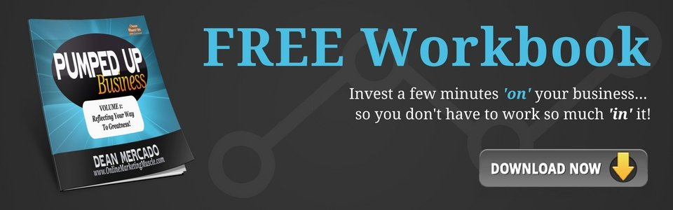 Solve the Marketing Insanity with Free Workbook Pumped Up Business