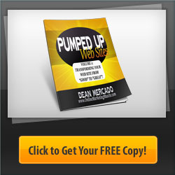 Pumped Up Web Sites eBook by Dean Mercado of Online Marketing Muscle