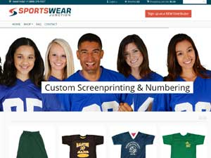 Website Samples by Online Marketing Muscle - Sportswear Junction