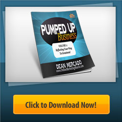 Pumped Up Business FREE eBook Banner Ad